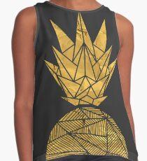 Bullion Rays Pineapple Contrast Tank