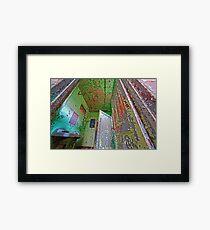 HDR Color Framed Print