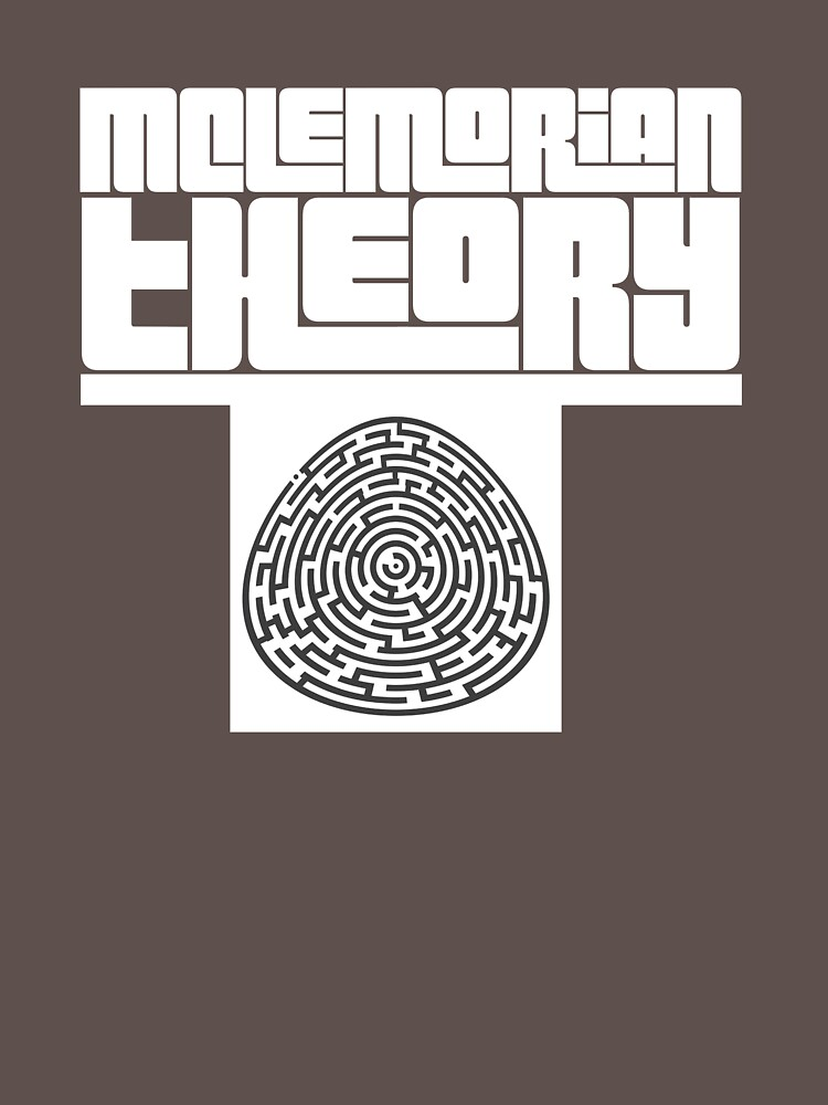 Mclemorian Theory- White Egg Maze by tees4gees