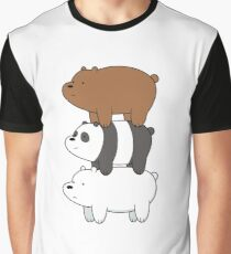 We Bare Bears III Graphic T-Shirt