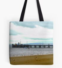 The wharf at Rathmullen, Donegal, Ireland Tote Bag