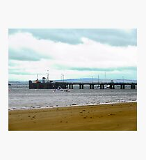 The wharf at Rathmullen, Donegal, Ireland Photographic Print
