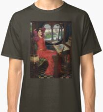 I am half-sick of shadows, said the Lady of Shalott - John William Waterhouse Classic T-Shirt
