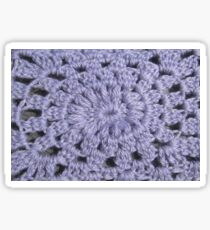 Knit pattern Sticker