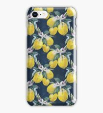 Lemons pattern iPhone Case/Skin