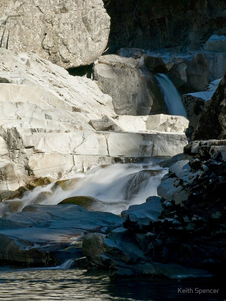 Granite Falls #5 by Keith Spencer