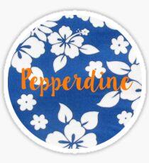 Pepperdine Sticker