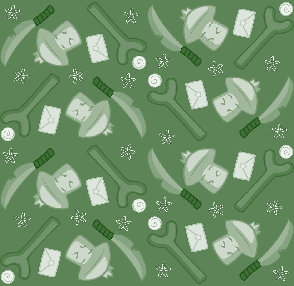 Darius' Green Sentimental Junk by azdion