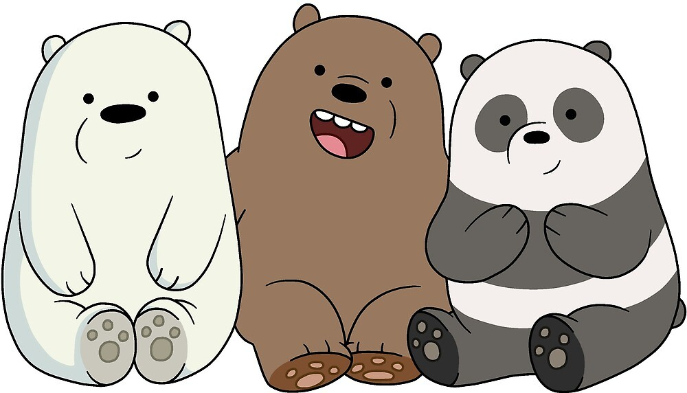 We Bare Bears IV by Breqzer