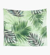 Palm leaves IV Wall Tapestry