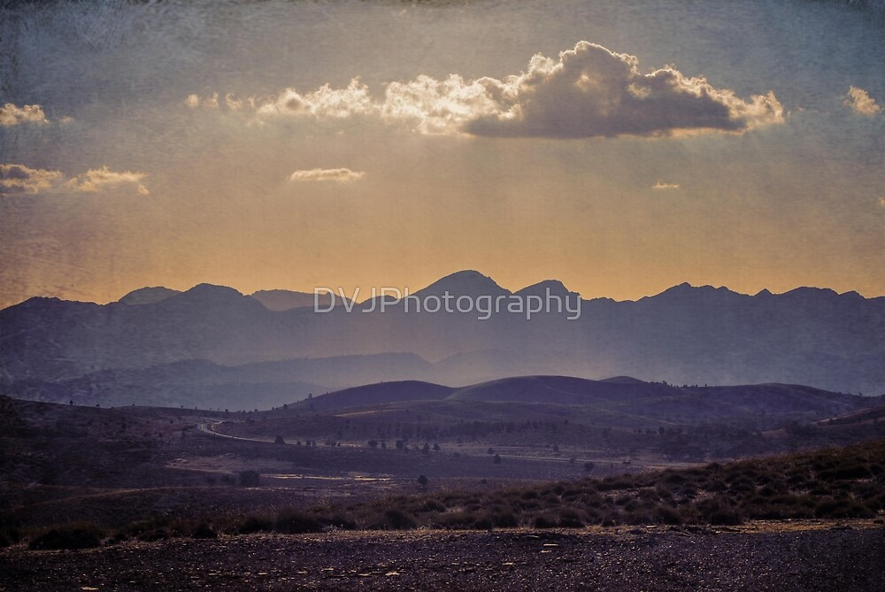 Distant Hills by DVJPhotography