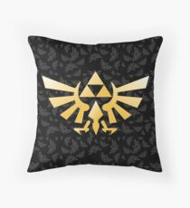 Zelda Pattern Throw Pillow