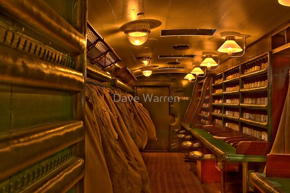 Mail Coach.....Colour by Dave Warren