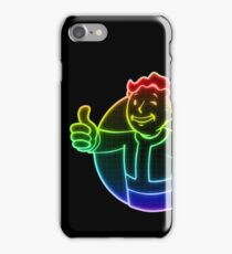 Rainbow Vault Boy iPhone Case/Skin