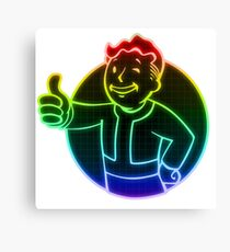 Rainbow Vault Boy Canvas Print