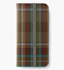 Bruce of Kinnaird (Vivienne Westwood Design) Tartan  iPhone Wallet/Case/Skin