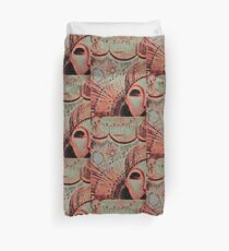 funfair glow , circus jacqueline mcculloch ,house of harlequin Duvet Cover