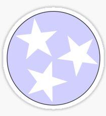 Lavender Tennessee Tri-Star Sticker