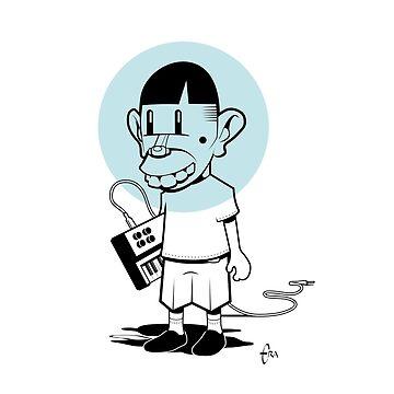 Rat Fink Moog by BizarroArt
