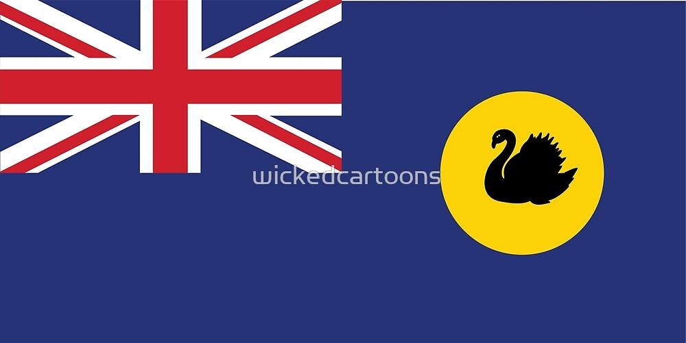 Western Australia by wickedcartoons