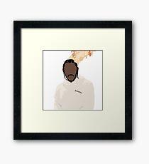 Kendrick Lamar - On Fire Framed Print