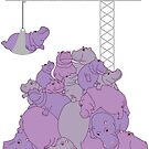 « Hippopotapile - The more the merrier! » par Hippopottermiss
