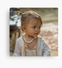 Village Girl 2 Canvas Print