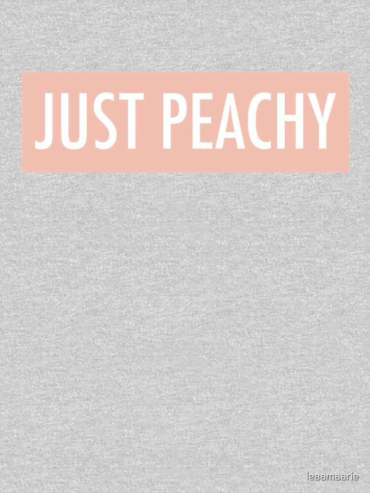 Just Peachy by leaamaarie