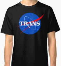 Nasa Trans Pride Logo Classic T-Shirt