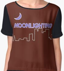 Moonlighting Chiffon Top