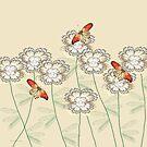 Incendia Flower Garden by Rosalie Scanlon