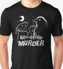 Graveyard Murder of Crows Unisex T-Shirt