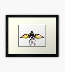 ro-bat Framed Print