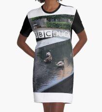 NDVH BBC Ducks Graphic T-Shirt Dress