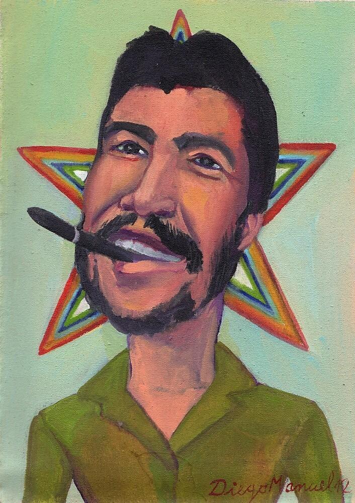 El Che Guevara. by Diego Manuel Rodriguez