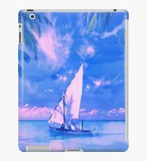 Tropical yachting iPad Case/Skin