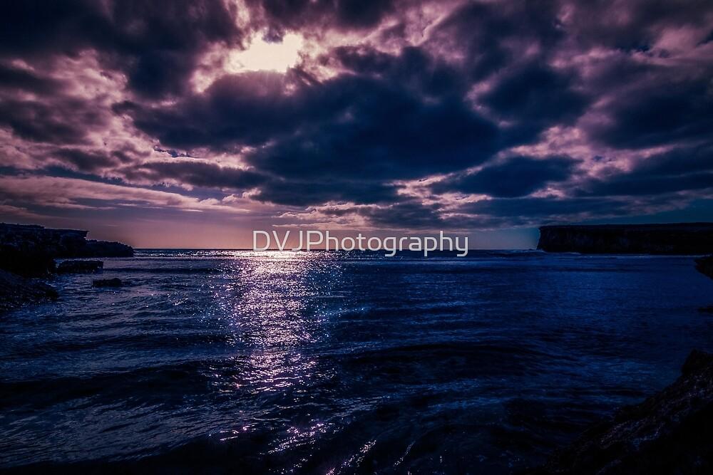 Dark Ocean by DVJPhotography