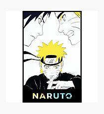 Naruto Sasuke Photographic Print