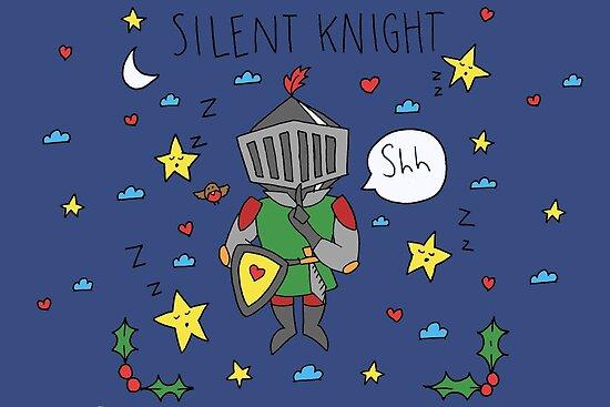 Silent Knight by Justine Matthew