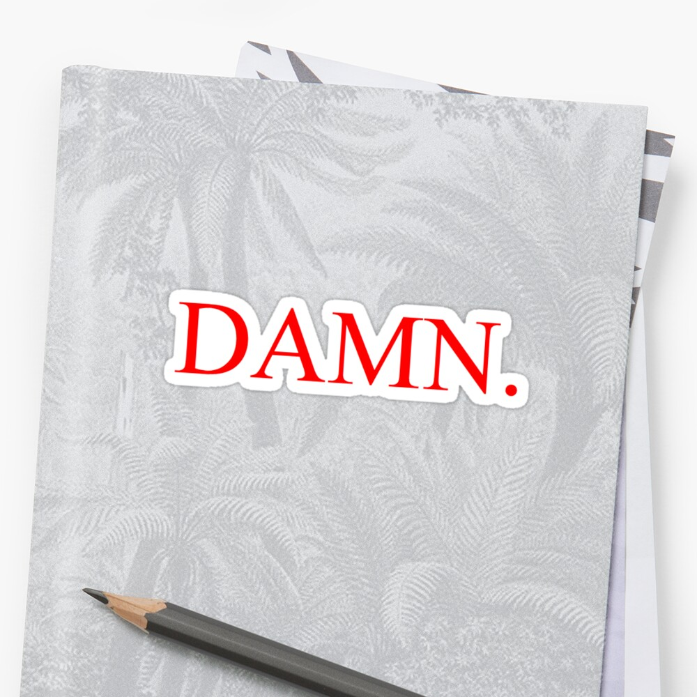 DAMN. Kendrick Lamar by taylorrsheetss