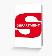 Department S Greeting Card