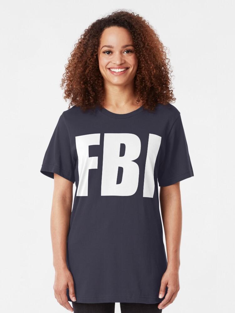 Alternate view of NDVH FBI Slim Fit T-Shirt
