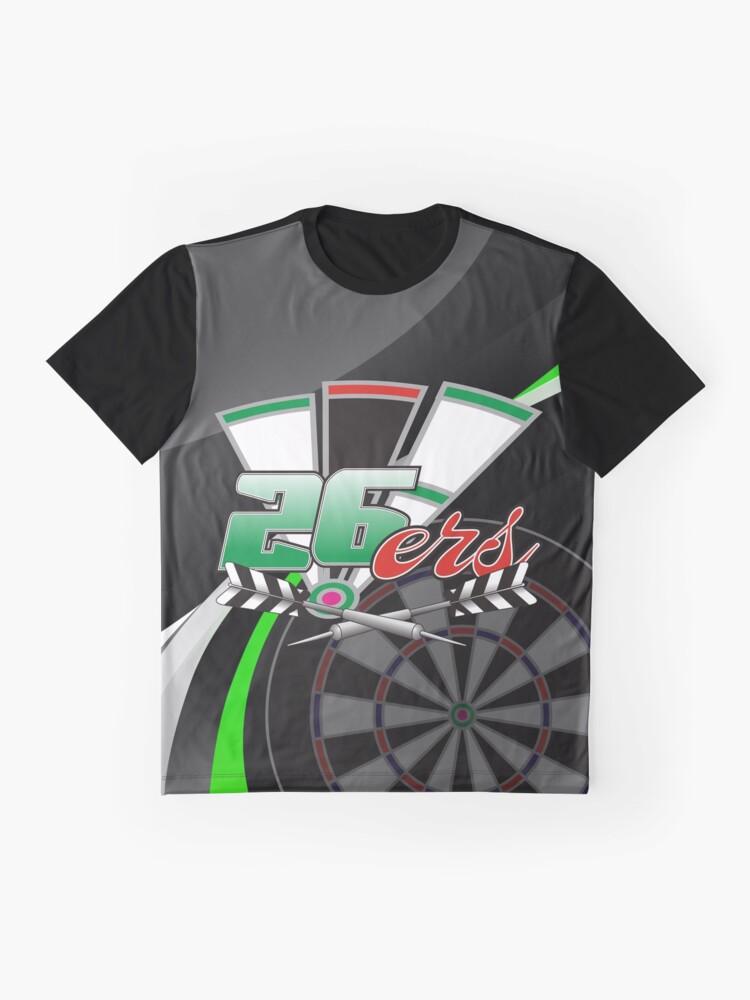 Alternate view of 26ers Darts Team Graphic T-Shirt