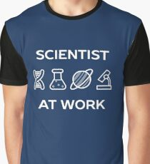 Cool Scientist At Work  Graphic T-Shirt