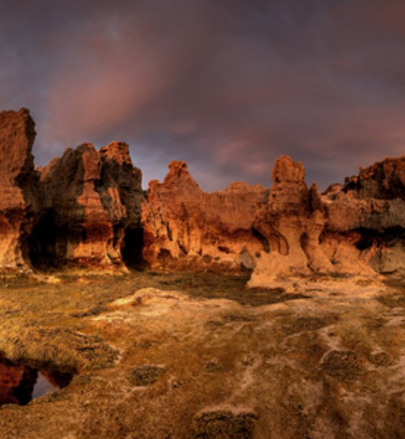 Erosion City Pan by Robert Mullner