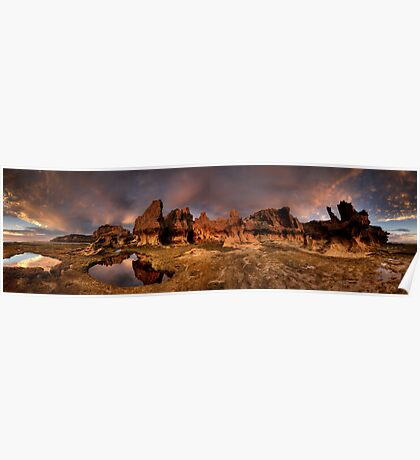Erosion City Pan Poster