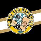 Armed And Hammered Darts Team by mydartshirts