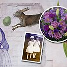 Easter collage by Lynn Starner
