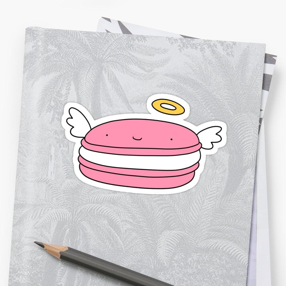 Pink Macaroon Angel by SaradaBoru