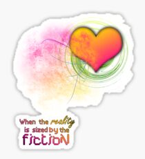 fiction Sticker